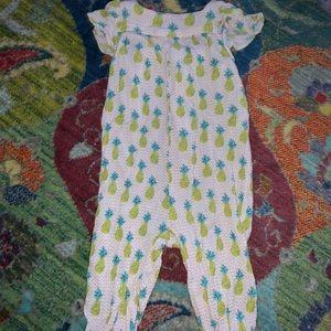 Zara Babygirl Pineapple Jumpsuit